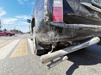 В Туле столкнулись броневик и внедорожник Lexus, Фото: 2