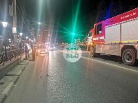 На ул. Мосина в Туле разбился мотоциклист, Фото: 1