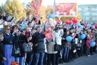 Третий этап эстафеты олимпийского огня: проспект Ленина, Фото: 14