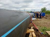 В Туле меняют аварийный участок трубы, из-за которого отключали воду в Пролетарском округе, Фото: 18