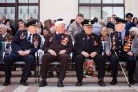 Открытие монумента и бронепоезда на Московском вокзале. 8 мая 2015 года, Фото: 13