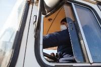 Как в Туле дезинфицируют маршрутки и автобусы, Фото: 32