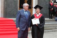 Владимир Груздев поздравил выпускников магистратуры ТулГУ, Фото: 69