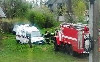 Скорая и пожарные застряли в грязи, Фото: 2