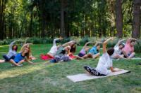 В Центральном парке прошла тренировка по пилатесу, Фото: 6