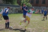 Тульские журналисты сыграли в футбол с зэками, Фото: 23