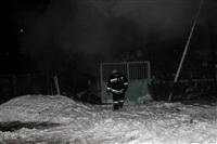 В пос. Менделеевский сгорел частный дом., Фото: 12