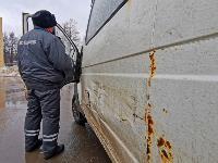 Проверка транспорта в Новомосковске, Фото: 11