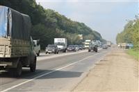 ДТП 12 сентября около 10 утра на 9-ом километре автодороги Тула-Новомосковск., Фото: 11