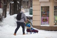 Последствия снежного циклона в Туле, Фото: 12