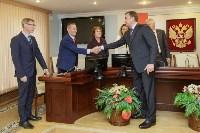 Алексей Дюмин получил знак и удостоверение губернатора Тульской области, Фото: 11