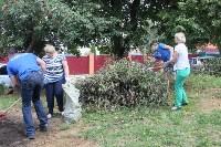 «Экопатруль» благоустроил в Киреевске двор, Фото: 7