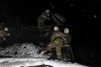 В пос. Менделеевский сгорел частный дом., Фото: 20