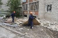 Алексей Дюмин проинспектировал работы по восстановлению дома в Ясногорске, Фото: 6