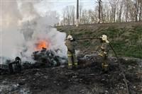 В Туле сборщики металла травят город дымом, Фото: 4