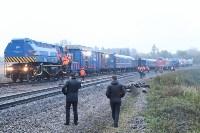Крушение поезда в Тульской области, Фото: 1