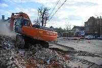 Снос аварийного дома на улице Октябрьской, Фото: 52