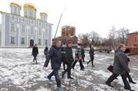 Осмотр кремля. 2 декабря 2013, Фото: 32