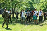 Тульский ОМОН провел боевую подготовку школьников, Фото: 1