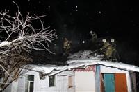 В пос. Менделеевский сгорел частный дом., Фото: 22