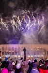 Главную ёлку Тулы открыли грандиозным фейерверком, Фото: 14