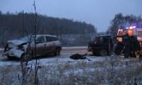 Авария под Алексином днём 12 декабря, Фото: 2