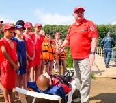 МЧС обучает детей спасать людей на воде, Фото: 27