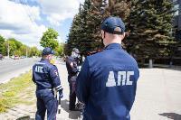 Полицейский рейд в тульских маршрутках: на пассажиров без масок составляют протоколы, Фото: 12