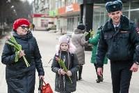 Полиция поздравила тулячек с 8 Марта, Фото: 52