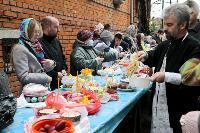 Туляки освящают пасхи и куличи, Фото: 4