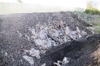 Незаконную свалку на берегу Тулицы спрятали под грудой земли, Фото: 29