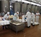 Алексей Дюмин посетил Узловский молочный комбинат, Фото: 11
