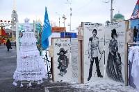 Арт-объекты на площади Ленина, 5.01.2015, Фото: 10