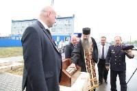 Сотрудники ОМОН поклонились мощам святого великомученика Георгия Победоносца, Фото: 19