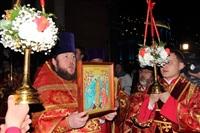 Пасхальная служба в Успенском соборе. 20.04.2014, Фото: 34