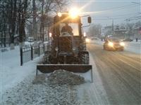Расчистка тульских улиц коммунальными службами, Фото: 1