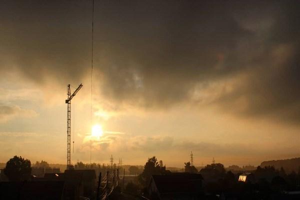 Июнь. Воскресный туманный рассвет в Глушанции