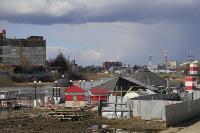 В Туле Упа подтопила Пролетарскую набережную, Фото: 25