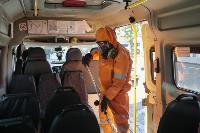 Дезинфекция транспорта в Туле, Фото: 3