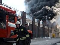 Загорелся недостроенный ТЦ на Красноармейском проспекте, Фото: 37