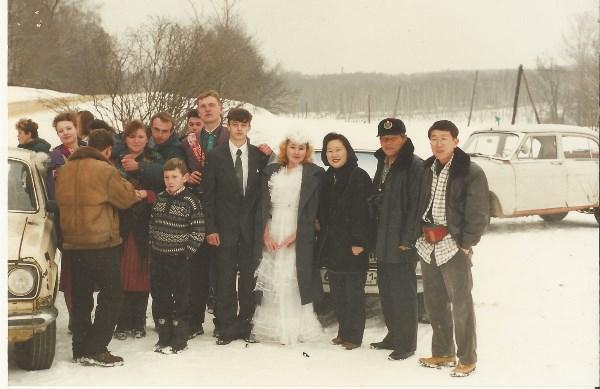 зима 1996 г. Ясная Поляна.