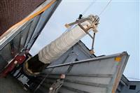 Утром 15 ноября в Тулу привезли шпиль для колокольни Успенского собора, Фото: 18