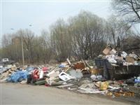 Свалка недалеко от доме № 7-А по улице Загородный проезд., Фото: 1