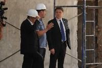 Владимир Груздев проинспектировал ремонт бассейна на улице Гоголевской. 8 июля 2015, Фото: 17