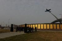Возле мемориала «Защитникам неба Отечества» высадили еловую аллею , Фото: 16