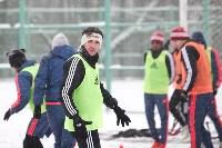 «Арсенал» готовится на снежном поле к игре против «Тосно», Фото: 12