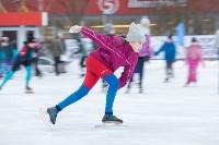В Туле прошли массовые конькобежные соревнования «Лед надежды нашей — 2020», Фото: 5