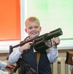Показательные выступления ОМОН в тульской школе, Фото: 3