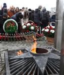 Возложение цветов к памятнику на площади Победы. 21 февраля 2014, Фото: 15