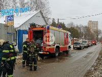 В Туле в переулке Тимирязева загорелся тир «Динамо», Фото: 3